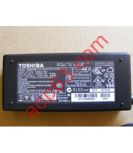 CHARGEUR  TOSHIBA 75W  6mm x 3mm PA-3469E ADPT11