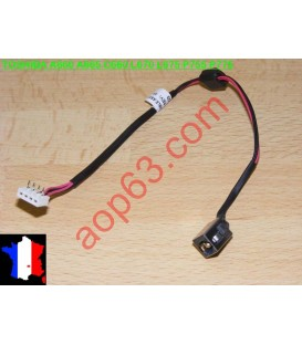 Connecteur alimentation  TOSHIBA SATELLITE L670  REF DC43