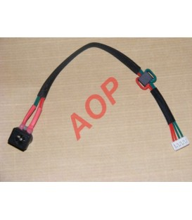 Connecteur alimentation SATELLITE A100 A105 diam 2.5mm DCHT04